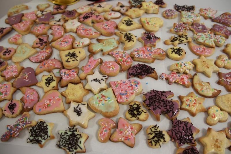 Weihnachtsbäckerei im Curschmannweg
