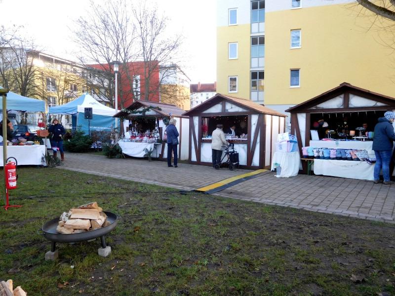 Weihnachtsmarkt der Genossenschaft