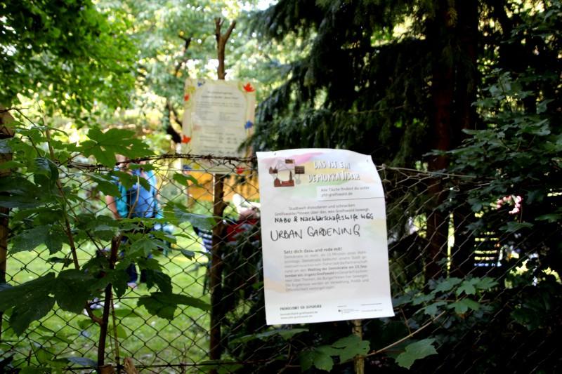 """DemokraTisch """"Urban Gardening"""""""