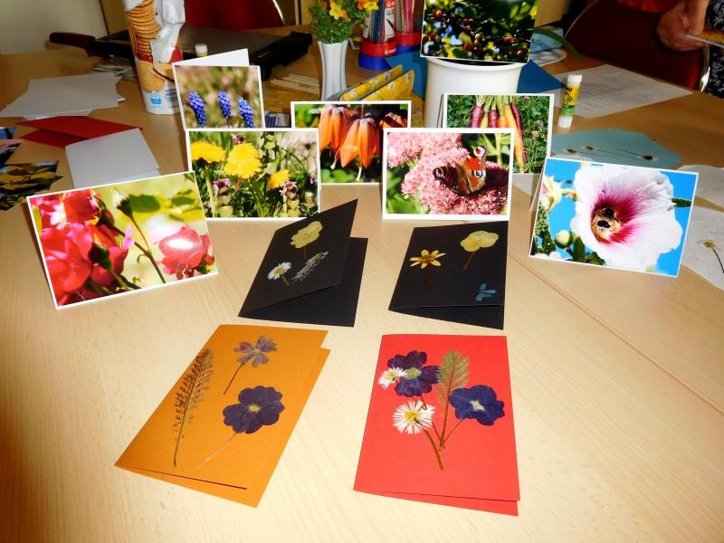 Wir gestalten Postkarten