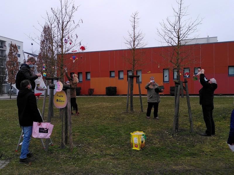 Osterbäume in Schönwalde II